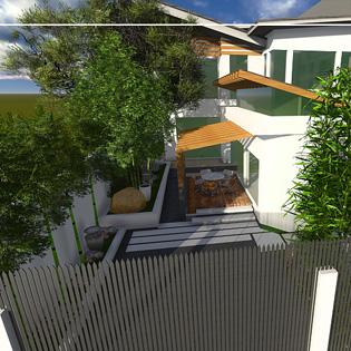 Lukban Residence perspective