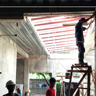 Lukban Residence under construction