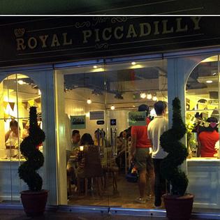 Royal Piccadilly restaurant