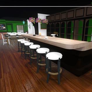 Saint Patrick's Pub perspective