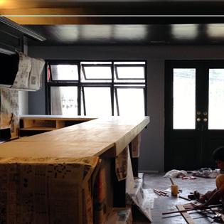 Saint Patrick's Pub under construction